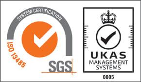 品質規格 ISO13485 認証取得