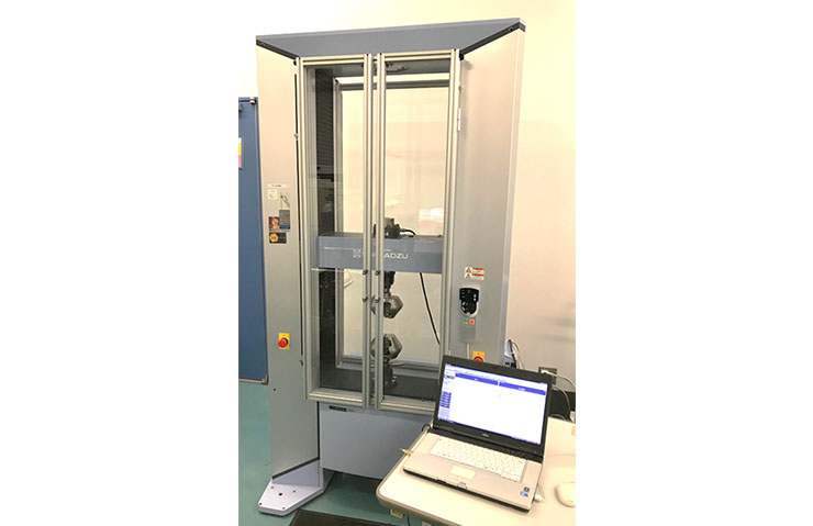 太盛工業の検査設備 万能試験機(引張・曲げ・圧縮試験機)