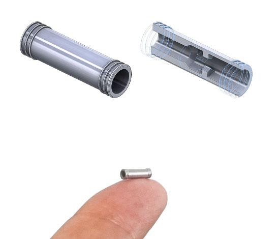 微小な製品を内部構造まで評価