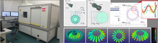 測定評価 : どのような形状の歯車も測定可能