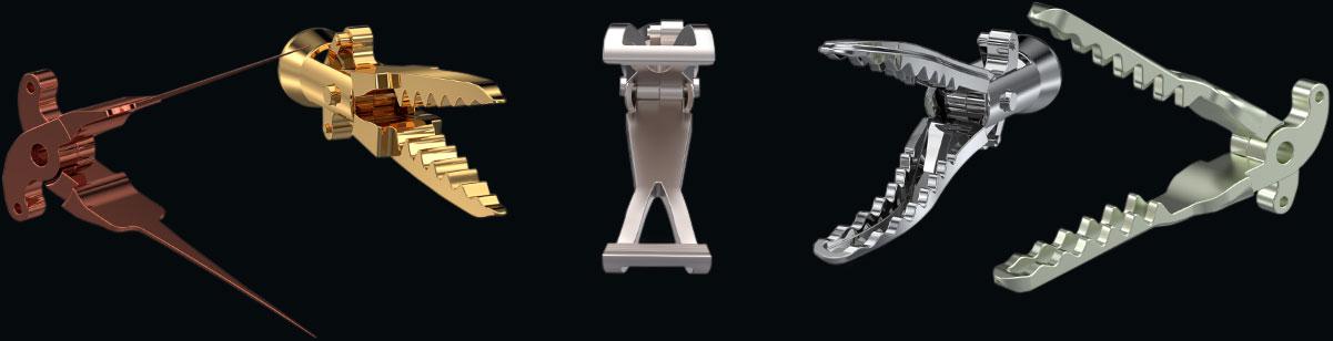ISO13485の品質管理で 医療用鉗子部品の量産